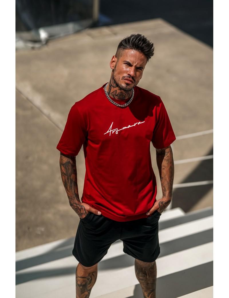 RED SIGNATURE T-SHIRT