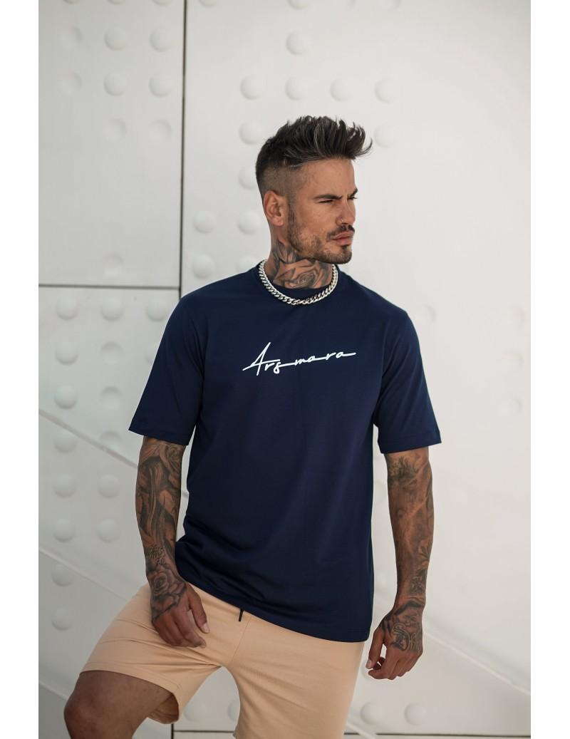 BLUE SIGNATURE T-SHIRT